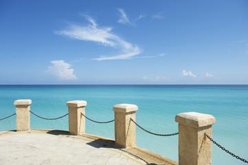 Classic Turquoise Caribbean View in Varadero Cuba