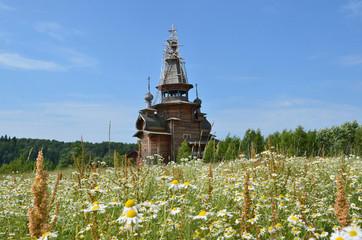 Сергиевская церковь у деревни Взгляднево