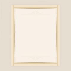 Frame beige