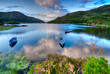 Lake in Ireland - 74998858