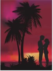 Romantik yaz gecesi