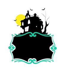 Haunted Halloween Banner