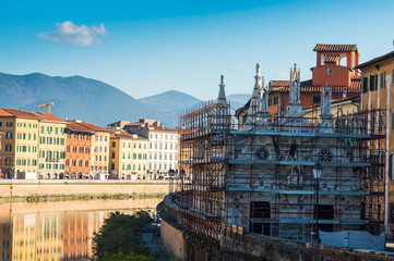 Restauro Chiesa di Santa Maria della Spina, Pisa