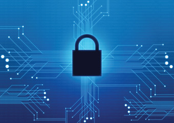 internet security technology background