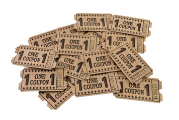 Batch of coupons