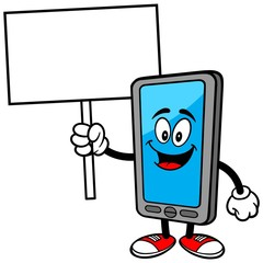 Smartphone with Sign
