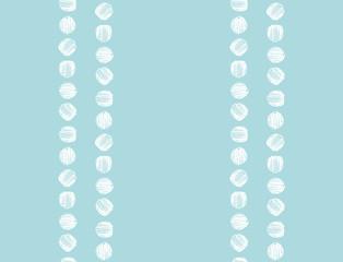 Seamless hand drawn dots pattern. Vector.