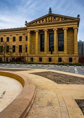 The Museum of Art in Philadelphia, Pennsylvania.