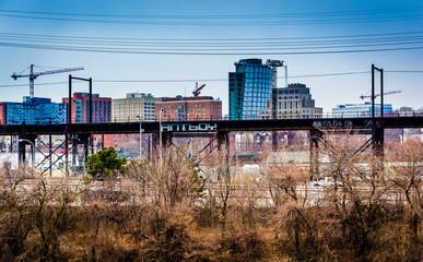 View of West Philadelphia, Pennsylvania.