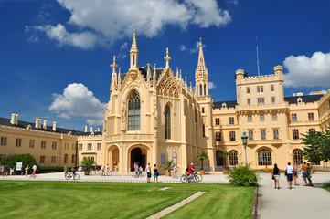 Lednice palace castle Moravia