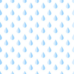Seamless pattern with drops