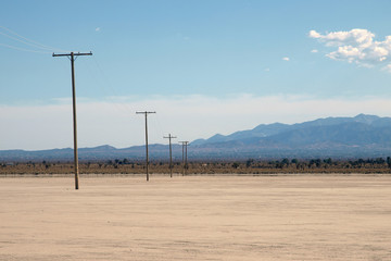 Mojave Desert Dry Lake