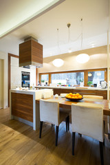 Kitchen interior in modern house