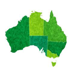オーストラリア 地図 国