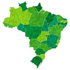 ブラジル 地図 国