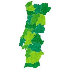 ポルトガル 地図 国