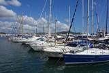 Hafen Mittelmeer Luxus Segelboote Yachten