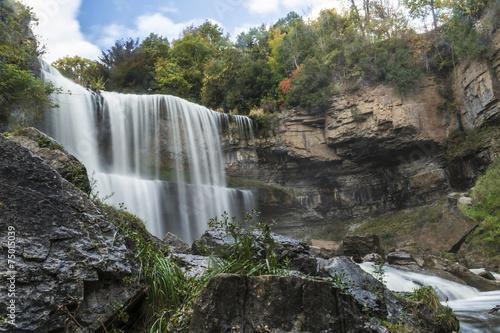 Fotobehang Watervallen Websters Falls
