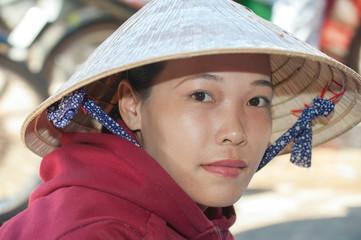 Portrait of Vietnamese girl