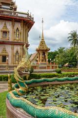 Dragon at Wat Chalong in Phuket
