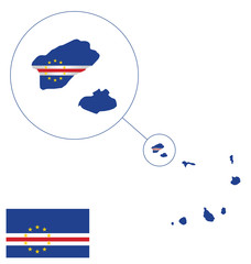 Flag of the Republic of Cabo Verde