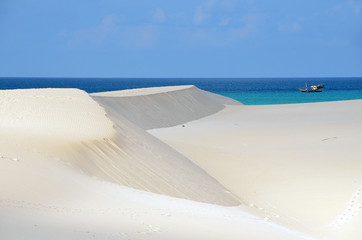 Дюны в Стеро, остров Сокотра, Йемен
