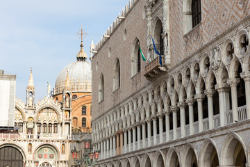 The Cathedral of San Marco in Venice