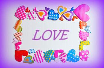 День святого Валентина,сердца