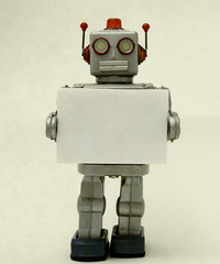 robot sign