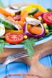 frische Salatvariation