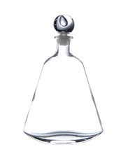 bottle vintage glass isolated