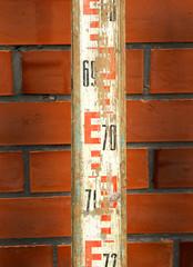 leveling rod vintage