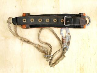 belt safety montage vintage