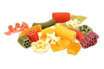 Italian colored pasta