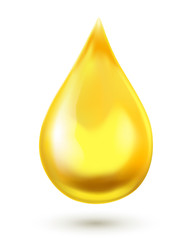 Oil drop. Vector illustration