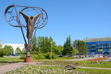 Kemerovo, sculptural composition