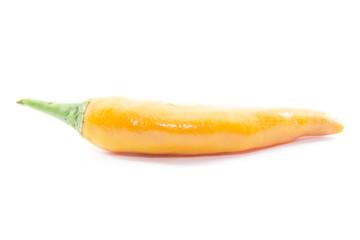 Orange chili pepper fresh ingredient