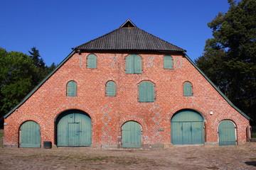 alte Scheune von 1730