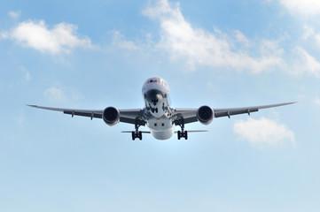 旅客機の着陸