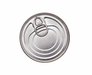lid of a tin can