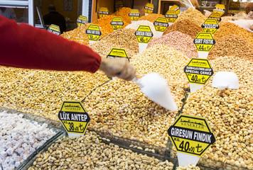 Turkish nuts sweets delight bazaar