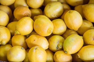 Bunch of Fresh Lemons