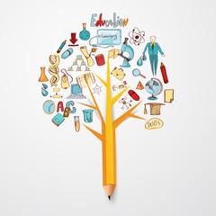 Education Doodle Concept