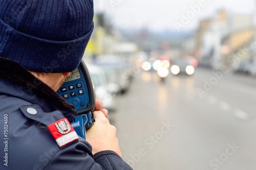 Polizei Rader Laser Messung Raser - 75024680