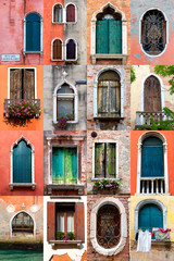 Collection of Venician Window