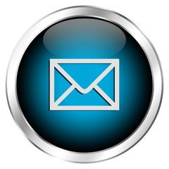 Runder Mail-Icon für Kontaktformular