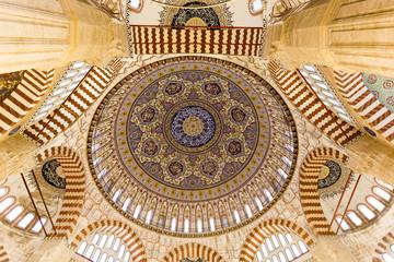 Selimiye Mosque dome interior