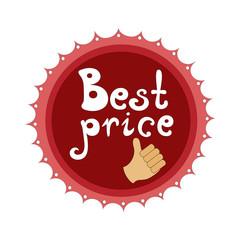 Badge Best price