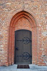 Kirchentor Kircheneingang Heiligenhafen 2014