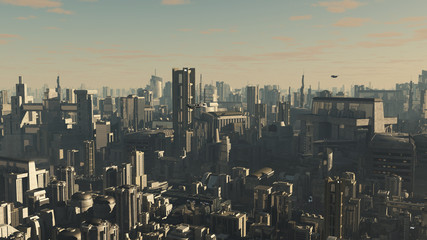 Future City - Late Afternoon